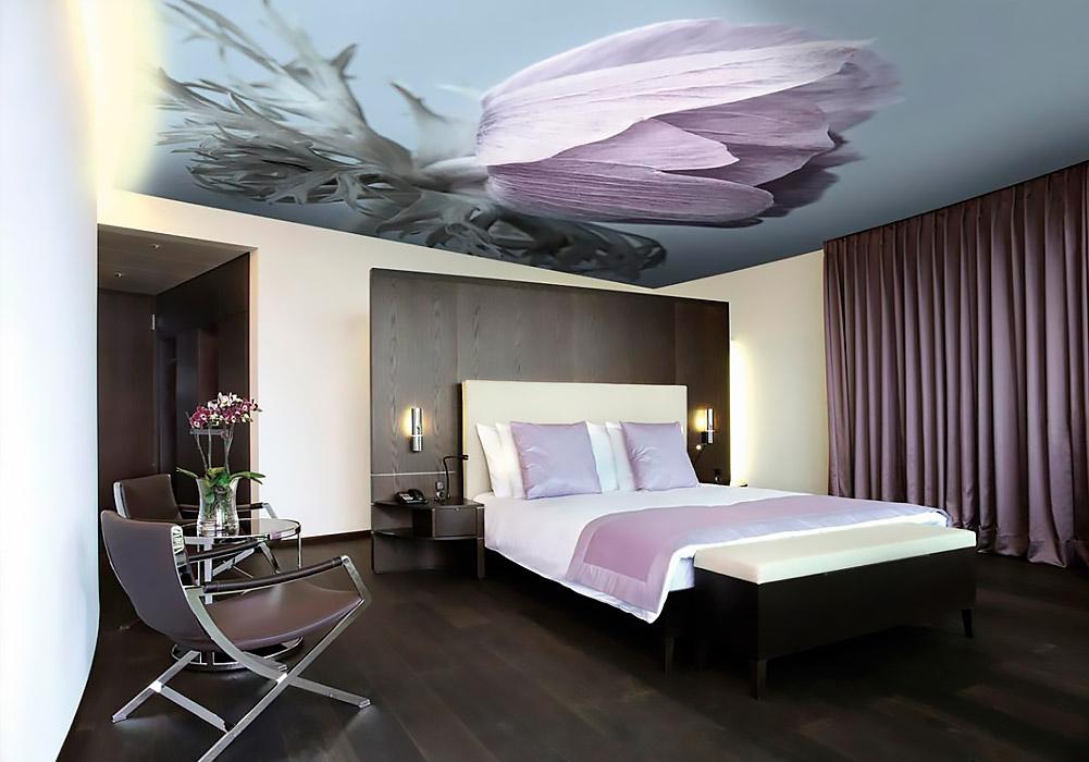 Дизайн потолков спальня фото
